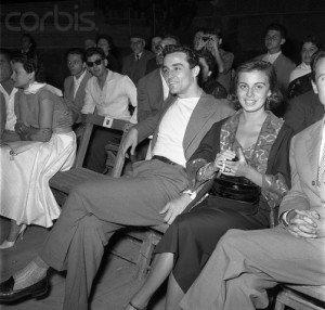 Vittorio Gassman and Anna Maria Ferrero