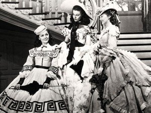 Ann-Rutherford, Vivien Leigh et Evelyn Keyes: les Soeurs O'Hara