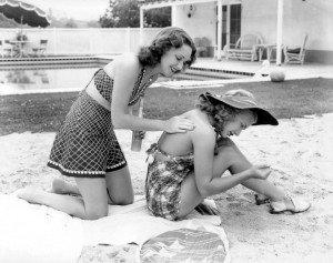 Rosemary et Priscilla Lane